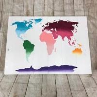 #101 world map XL