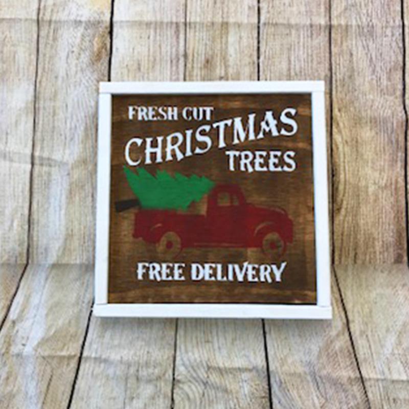 Fresh Cut Christmas Trees Sign.14 Fresh Cut Christmas Tree
